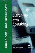 Skills For First Certificate (fce): Listenig And Speaking - Teach Er S Book por Malcolm Mann;                                                                                                                                                                    