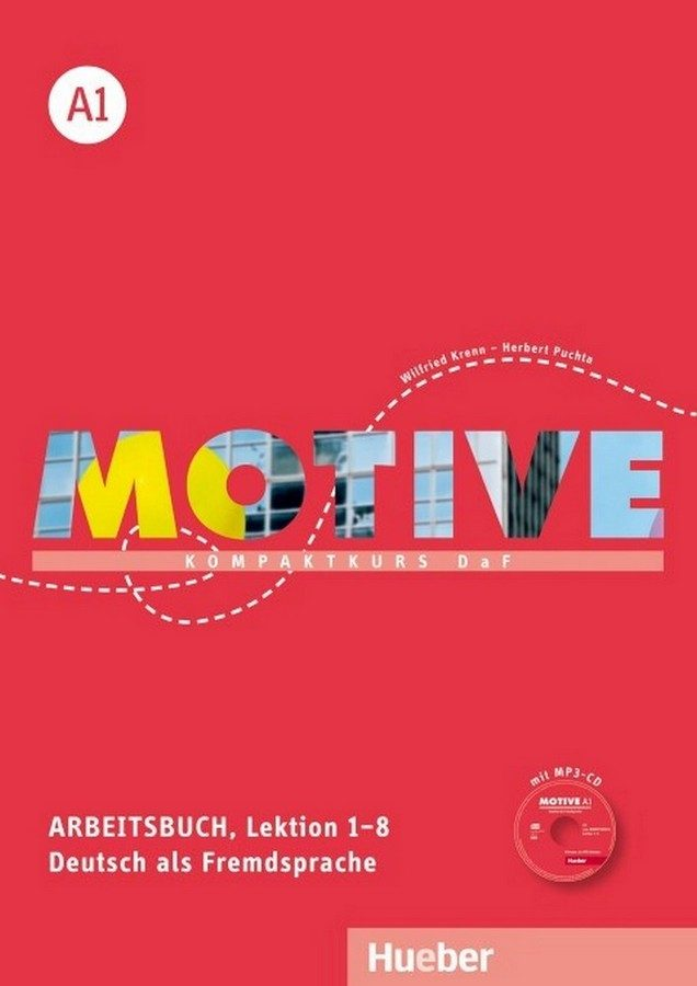 motive a1. arbeitsbuch a1. lektion 1-8 mit mp3-audio-cd: kompaktkurs daf.deutsch als fremdsprache-9783190318803