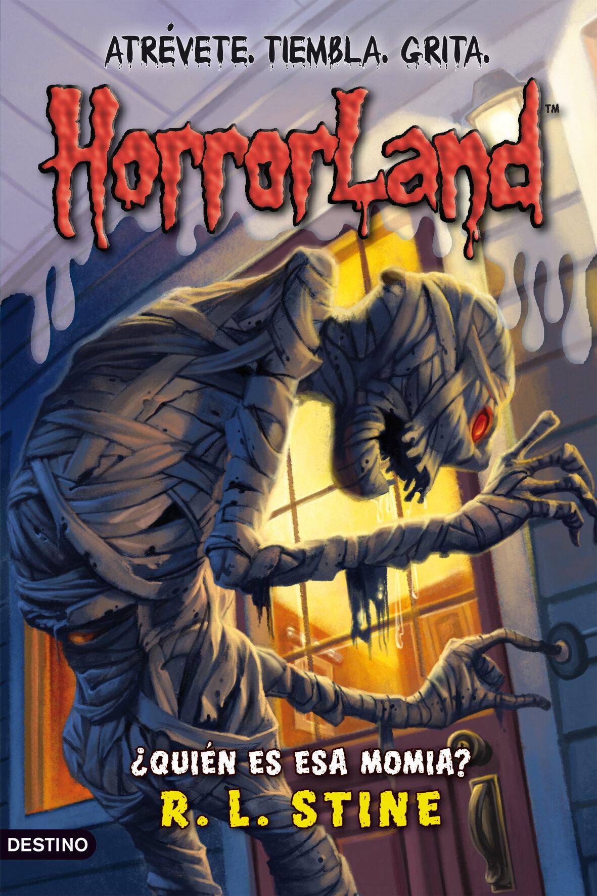 Horrorland 6: ¿quien Es Esa Momia? por R.l. Stine