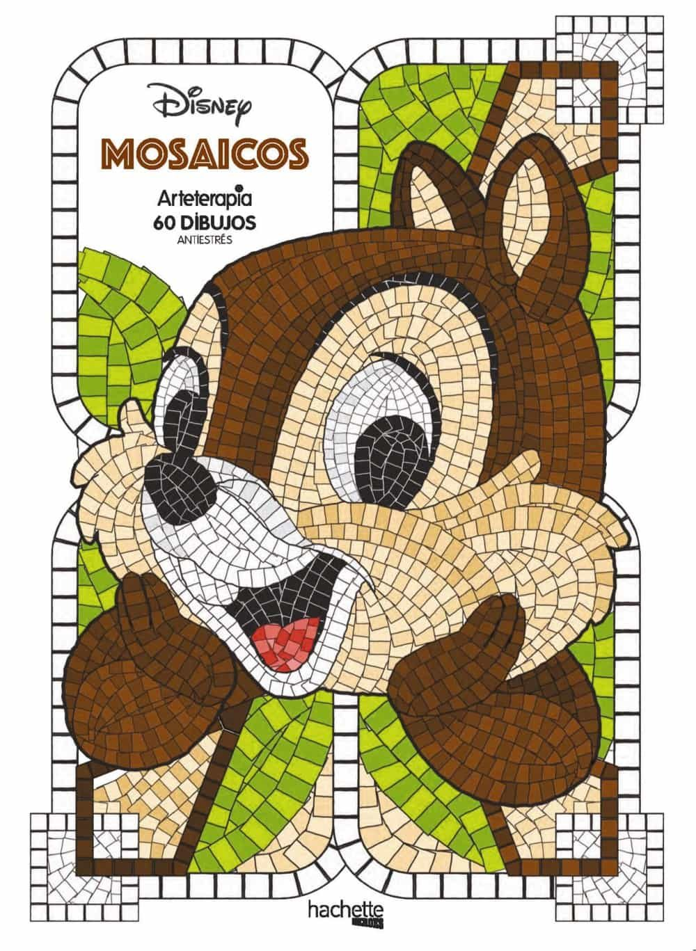 Mosaicos Disney por Vv.aa.