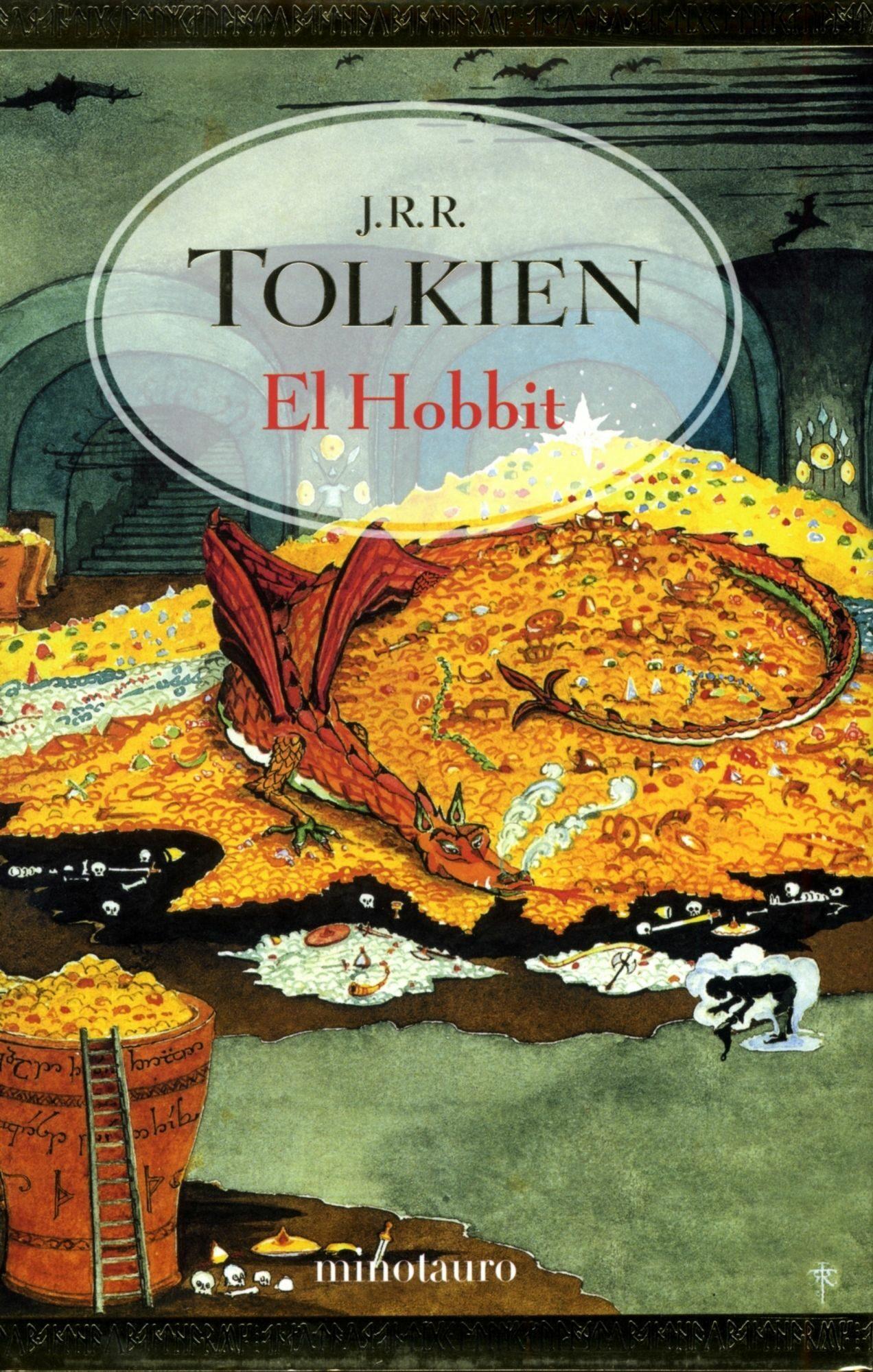 el hobbit (tapa dura lujo)-j.r.r. tolkien-9788445073803