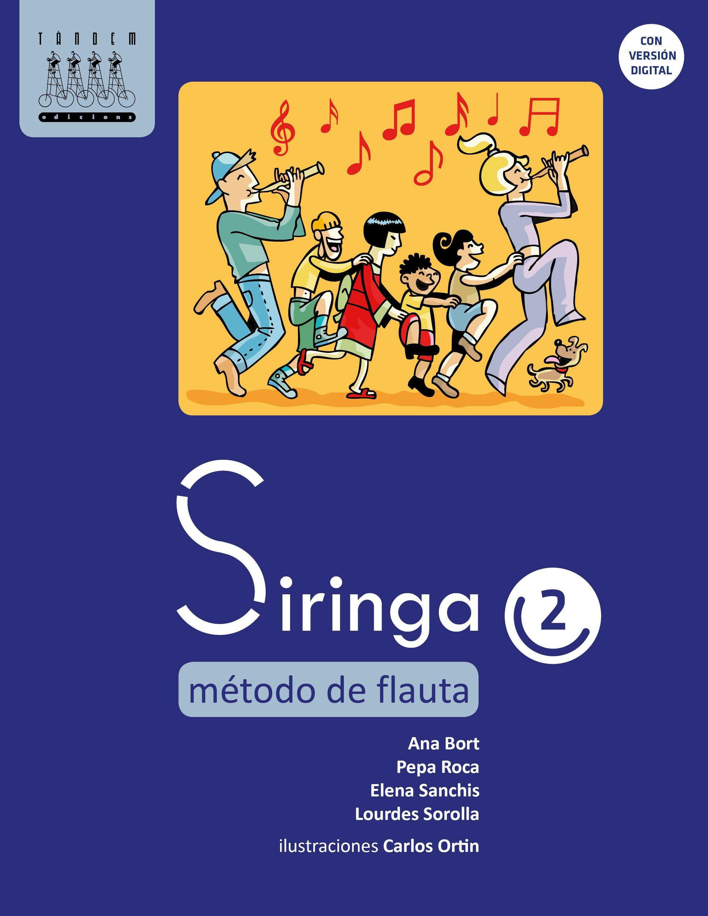 Siringa 2. Método de flauta
