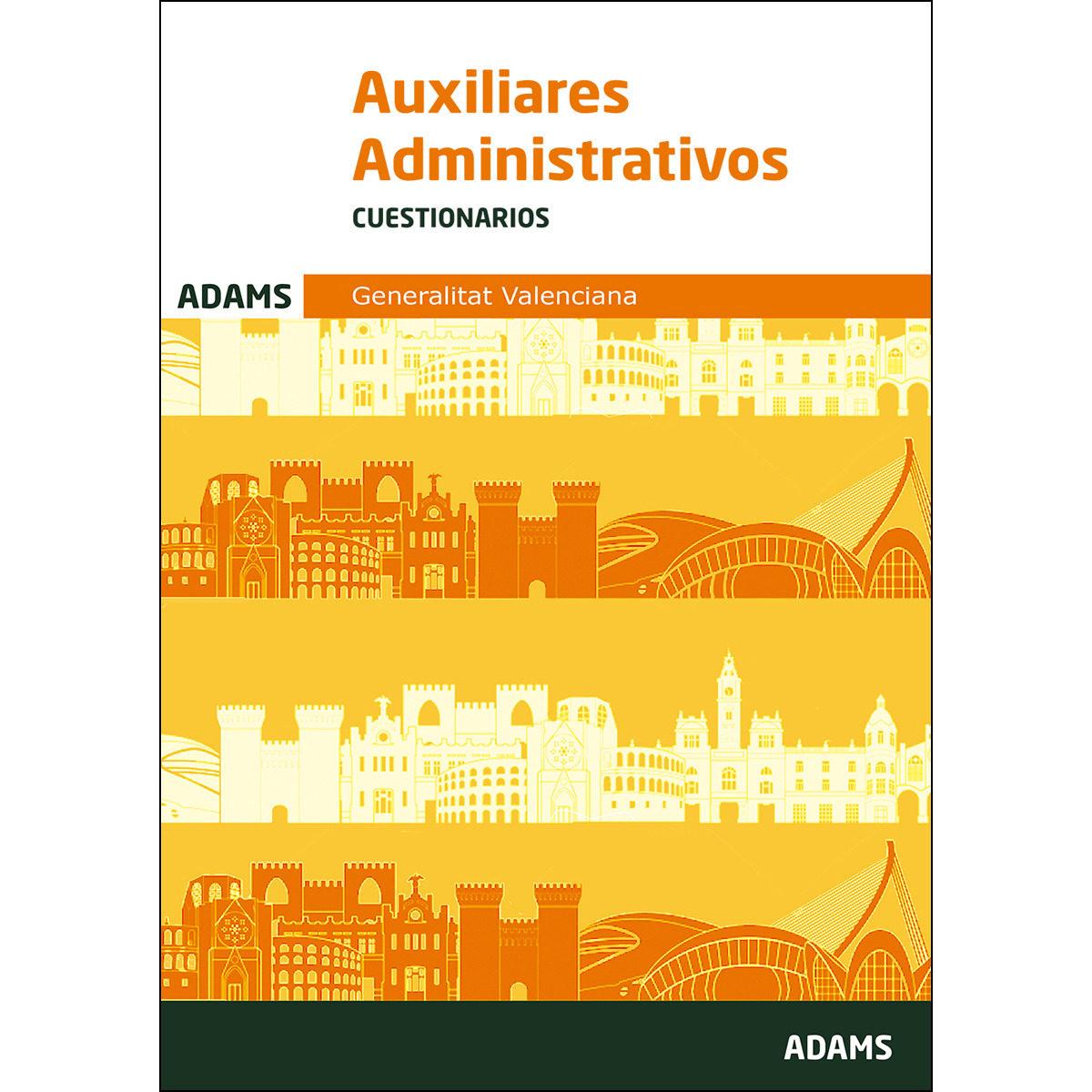 auxiliares administrativos de la generalitat valenciana cuestionarios-9788491474203