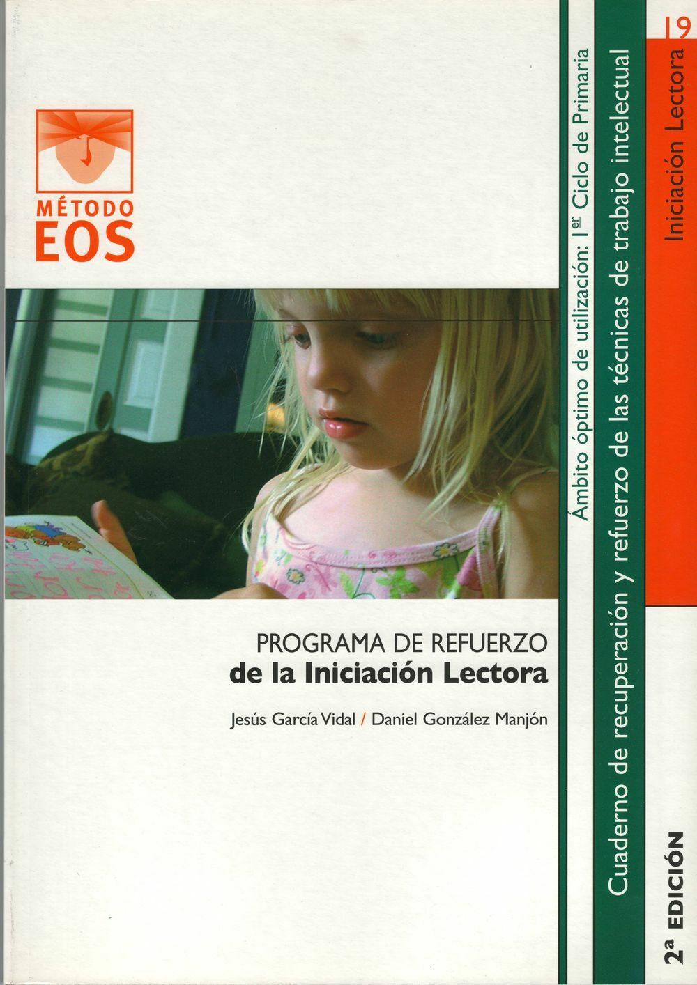 Programa De Refuerzo De La Iniciacion Lectora por Jesus Garcia Vidal