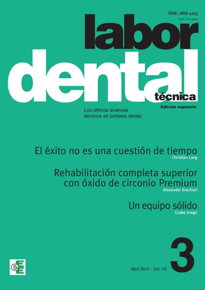 LABOR DENTAL TÉCNICA 3 (EBOOK)