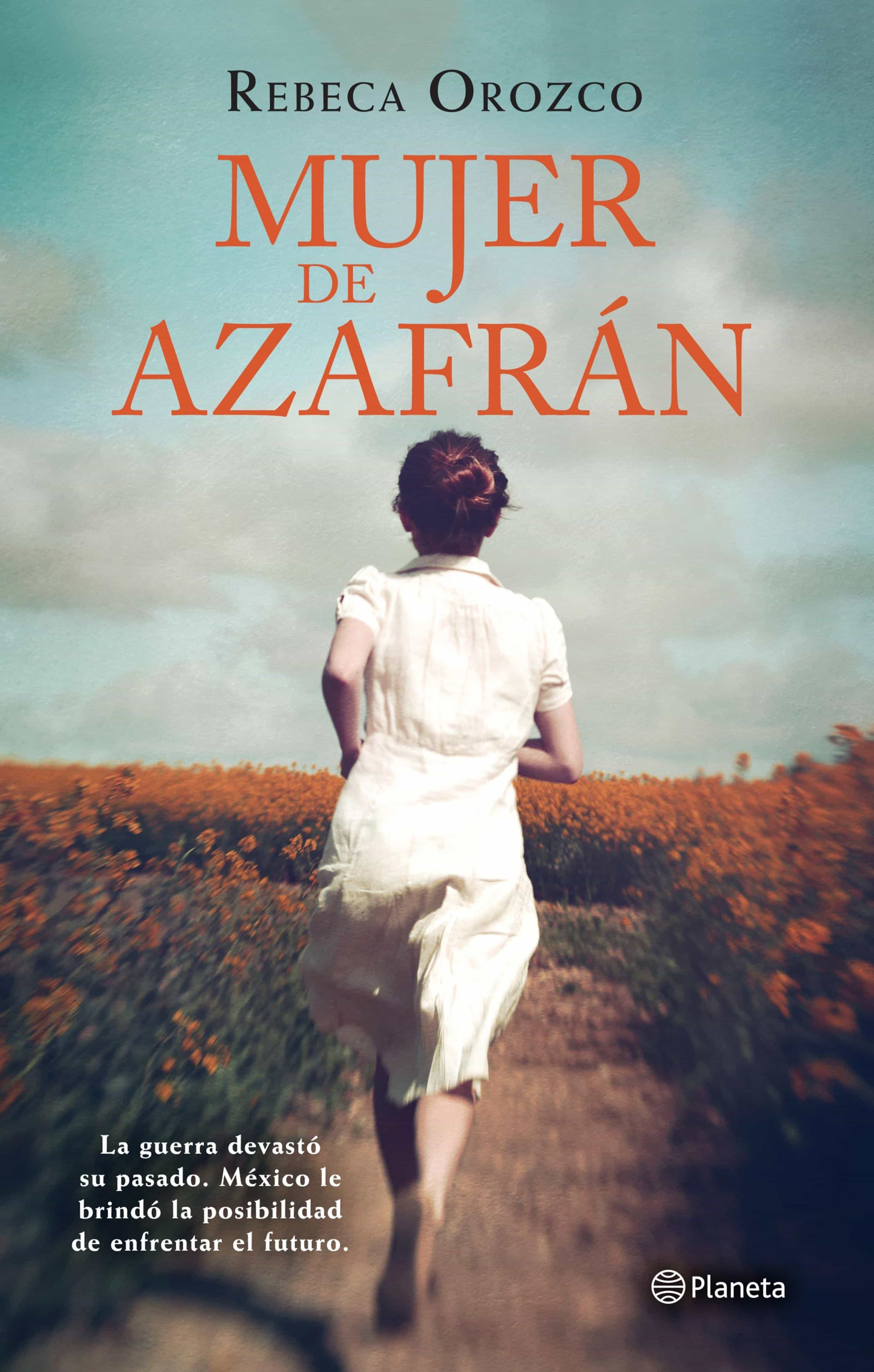 Mujer de azafrán