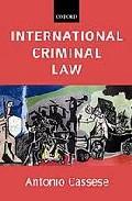 International Criminal Law por Antonio Cassese epub
