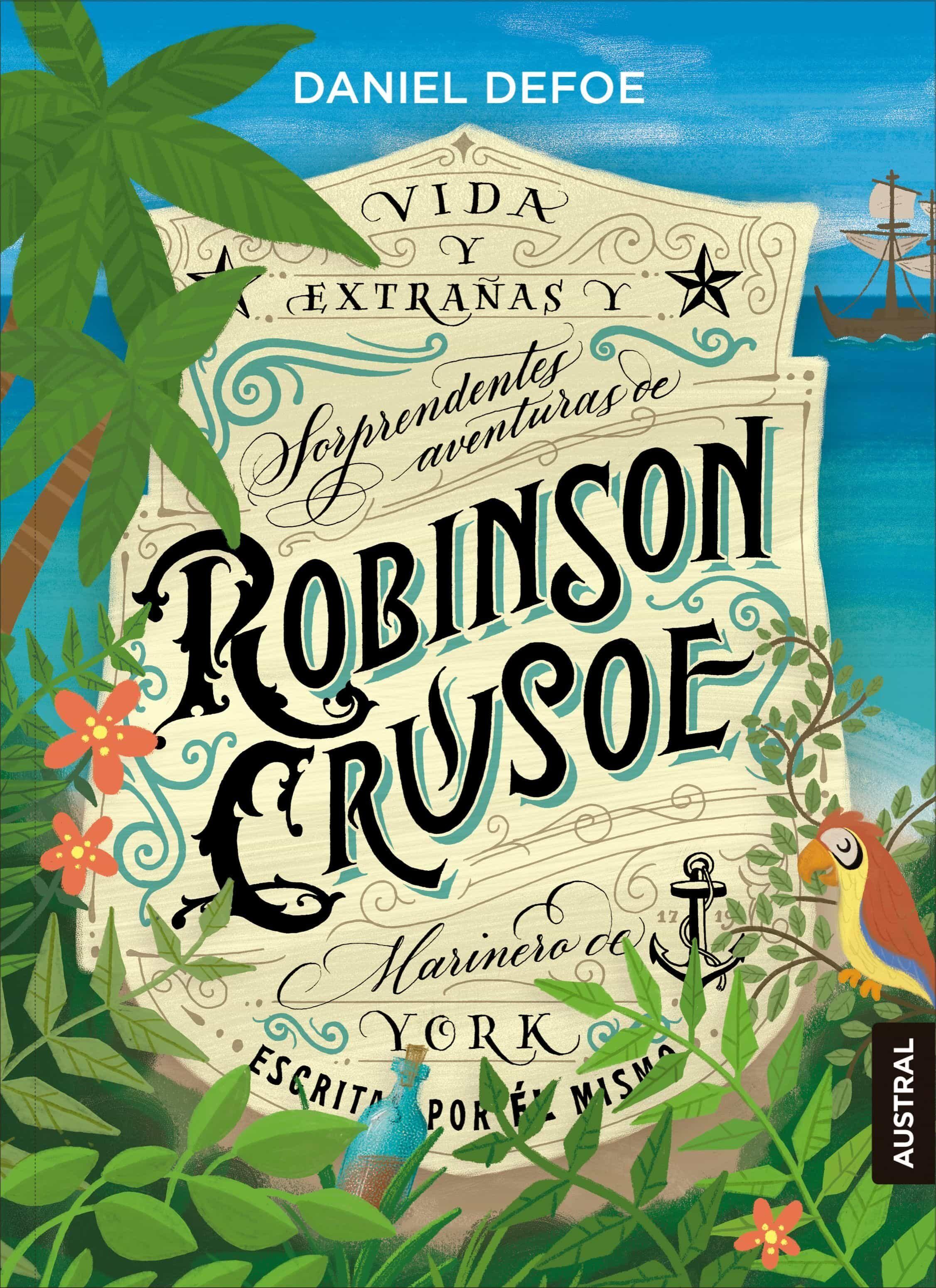 robinson crusoe-daniel defoe-9788408190813