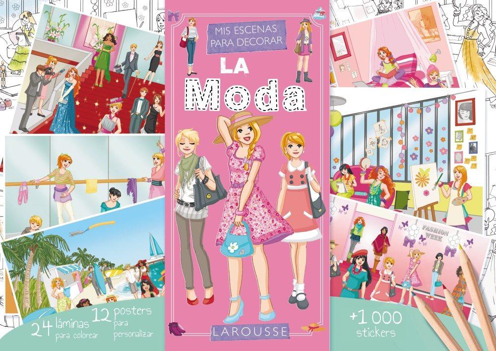 MIS ESCENAS PARA DECORAR: LA MODA | VV.AA. | Comprar libro 9788415785613