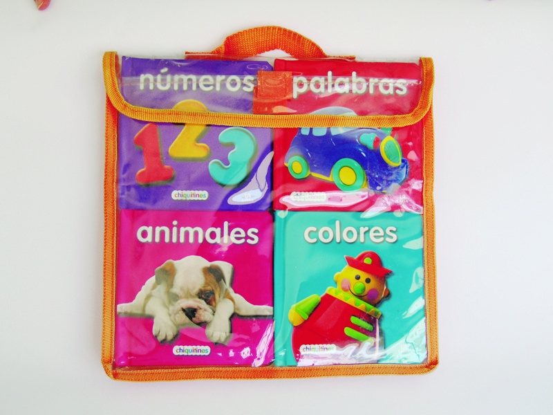 MI PRIMER PACK CHIQUITINES III: PALABRAS, COLORES, NUMEROS Y ...