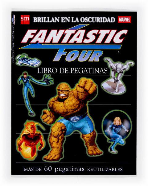 Fantastic Four. Libro De Pegatinas Que Brillan En La Oscuridad por Vv.aa. epub