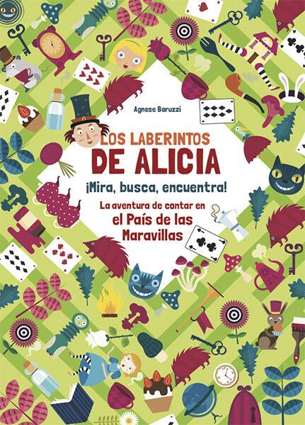 Los Laberintos De Alicia (vvkids) por Agnese Baruzzi