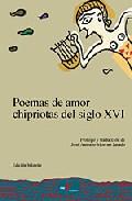 POEMAS DE AMOR CHIPRIOTAS DEL SIGLO XVI (ED. BILINGÜE GRIEGO-ESP AÑOL)