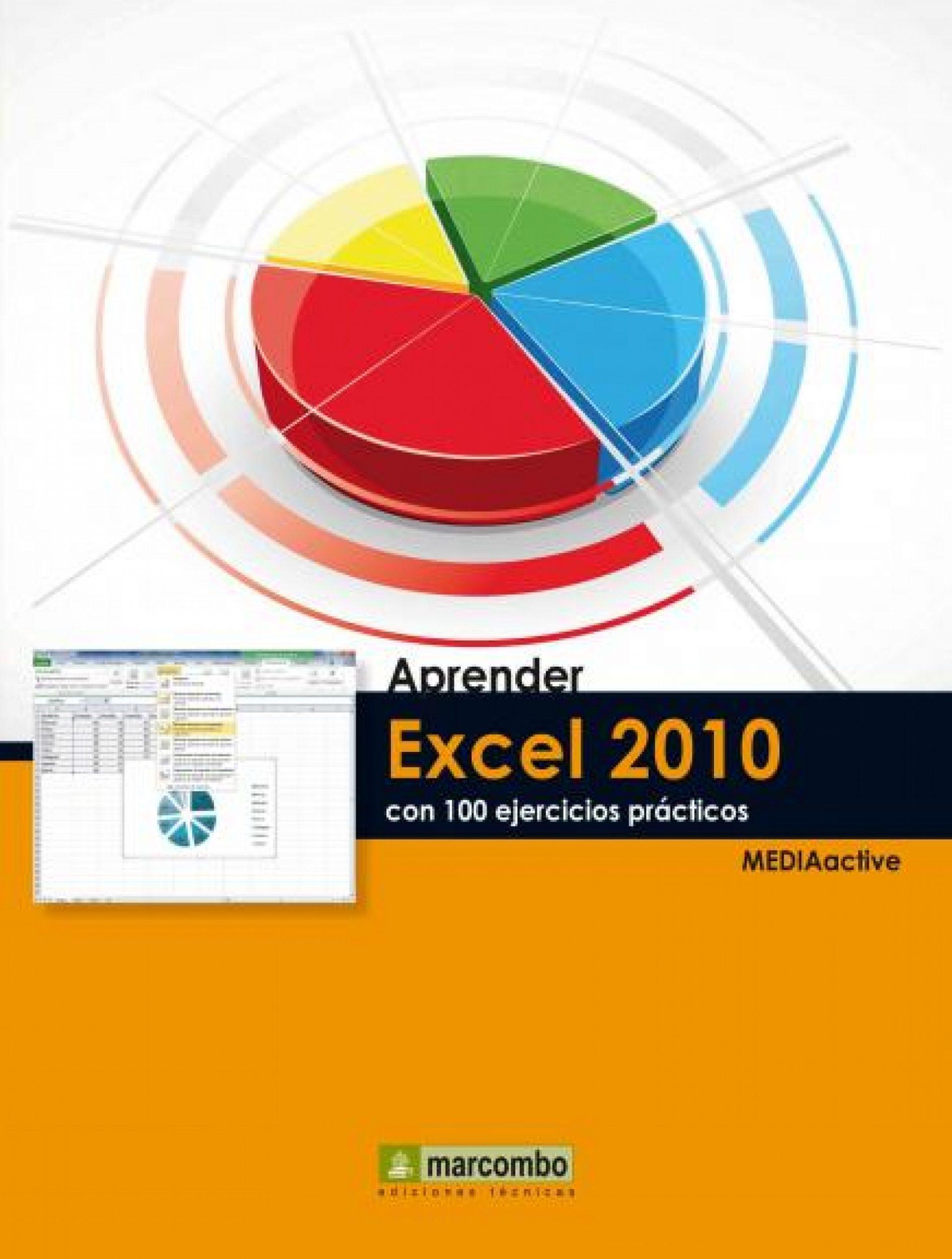 APRENDER EXCEL 2010 CON 100 EJERCICIOS PRÁCTICOS (EBOOK)