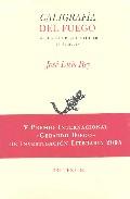 Caligrafia Del Fuego: La Poesia De Pere Gimferrer (1962 - 2001) por Jose Luis Rey