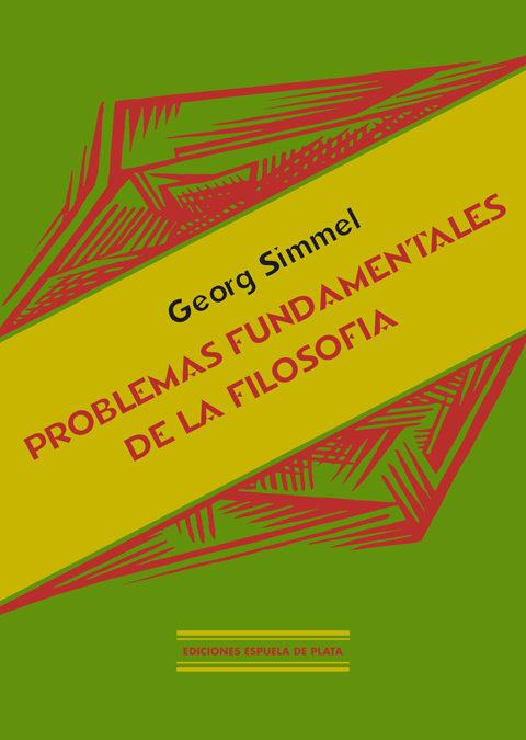 Problemas Fundamentales De La Filosofia por George Simmel epub