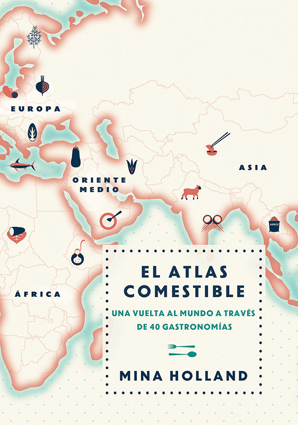 el atlas comestible-mina holland-9788499188423