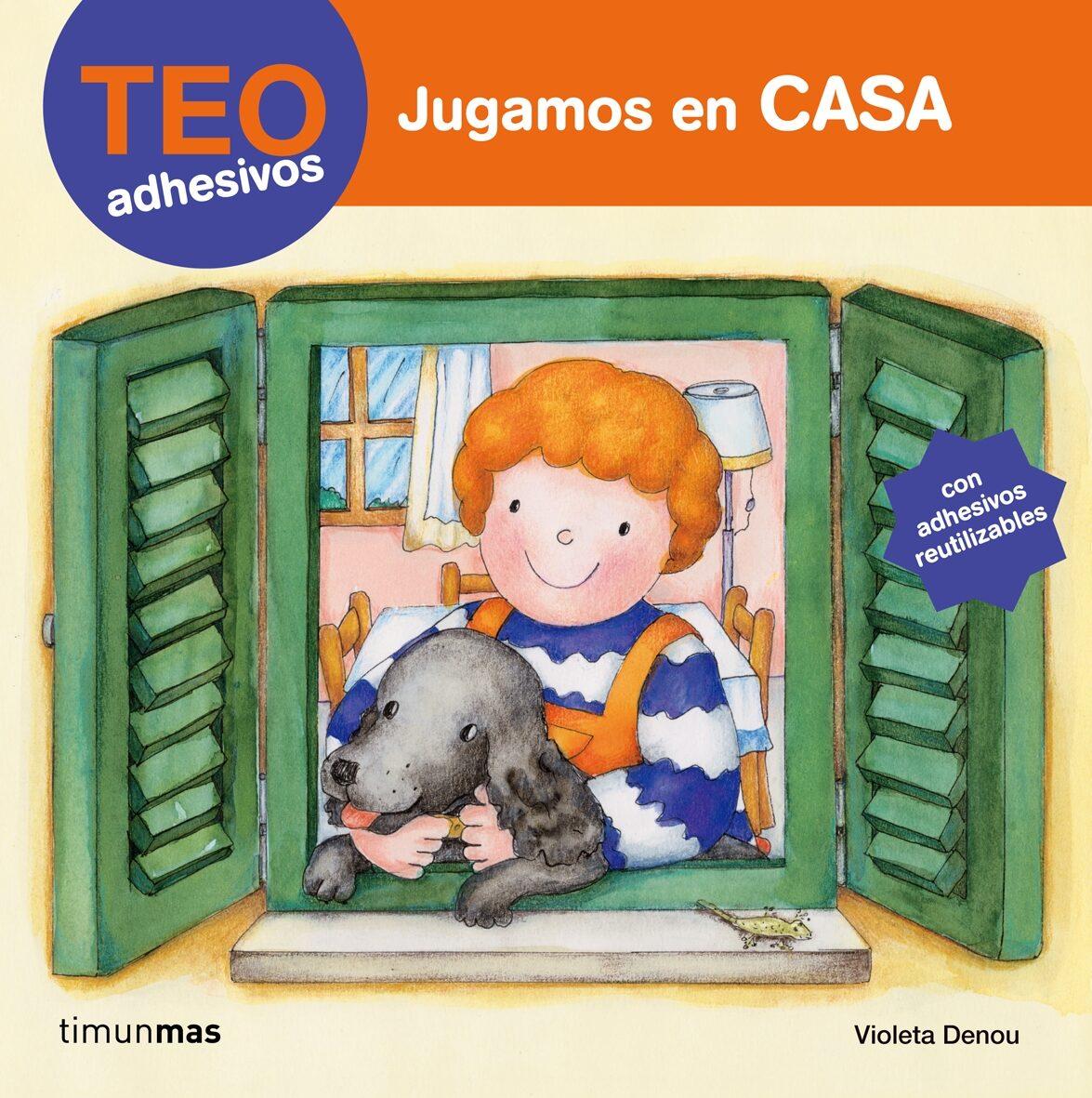 Teo Adhesivos: Jugamos En Casa por Violeta Denou Gratis
