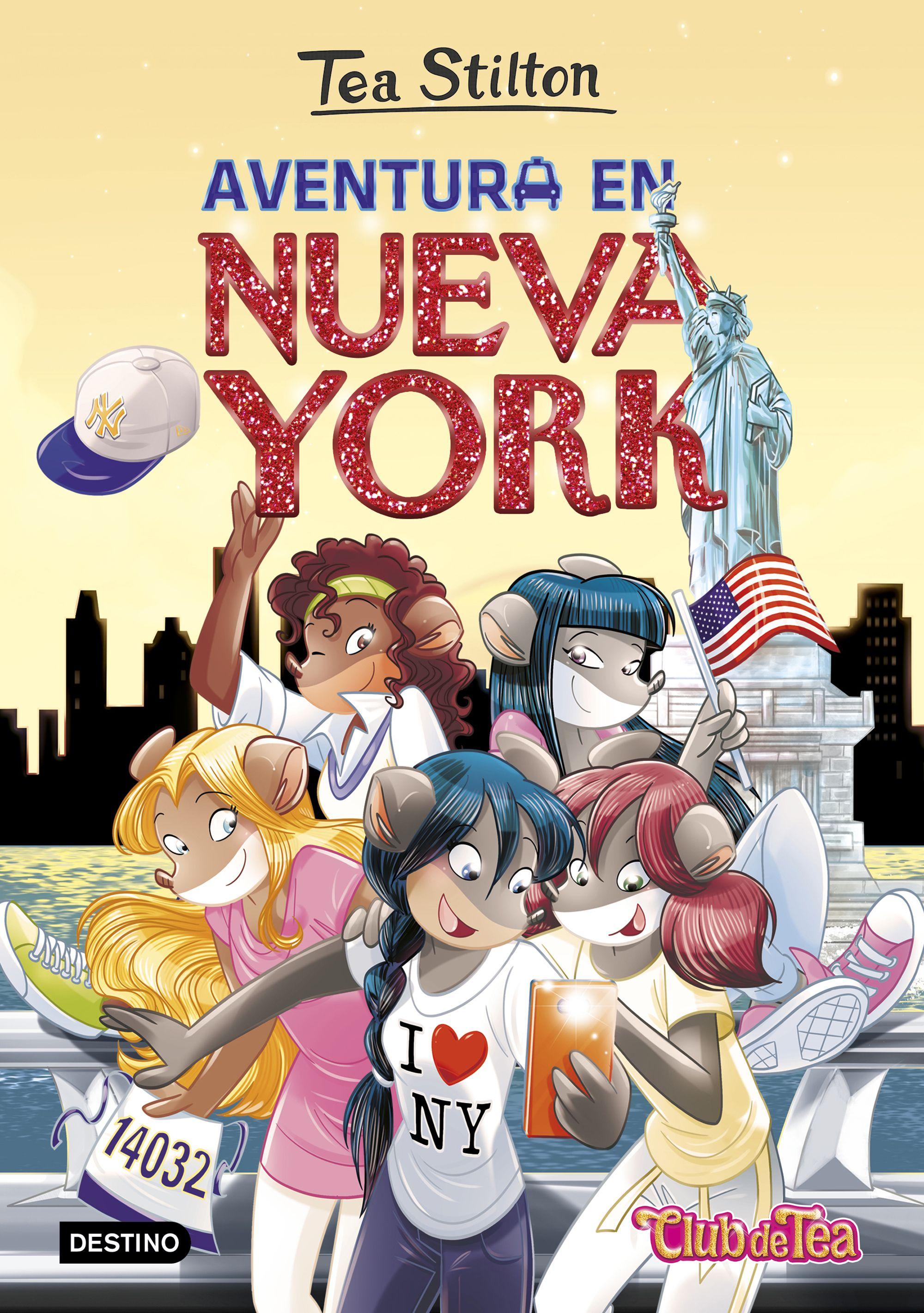 tea stilton 6: aventura en nueva york-tea stilton-9788408151333