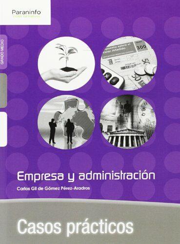 empresa y administracion casos practicos-carlos gil de gomez perez-aradros-9788428399333