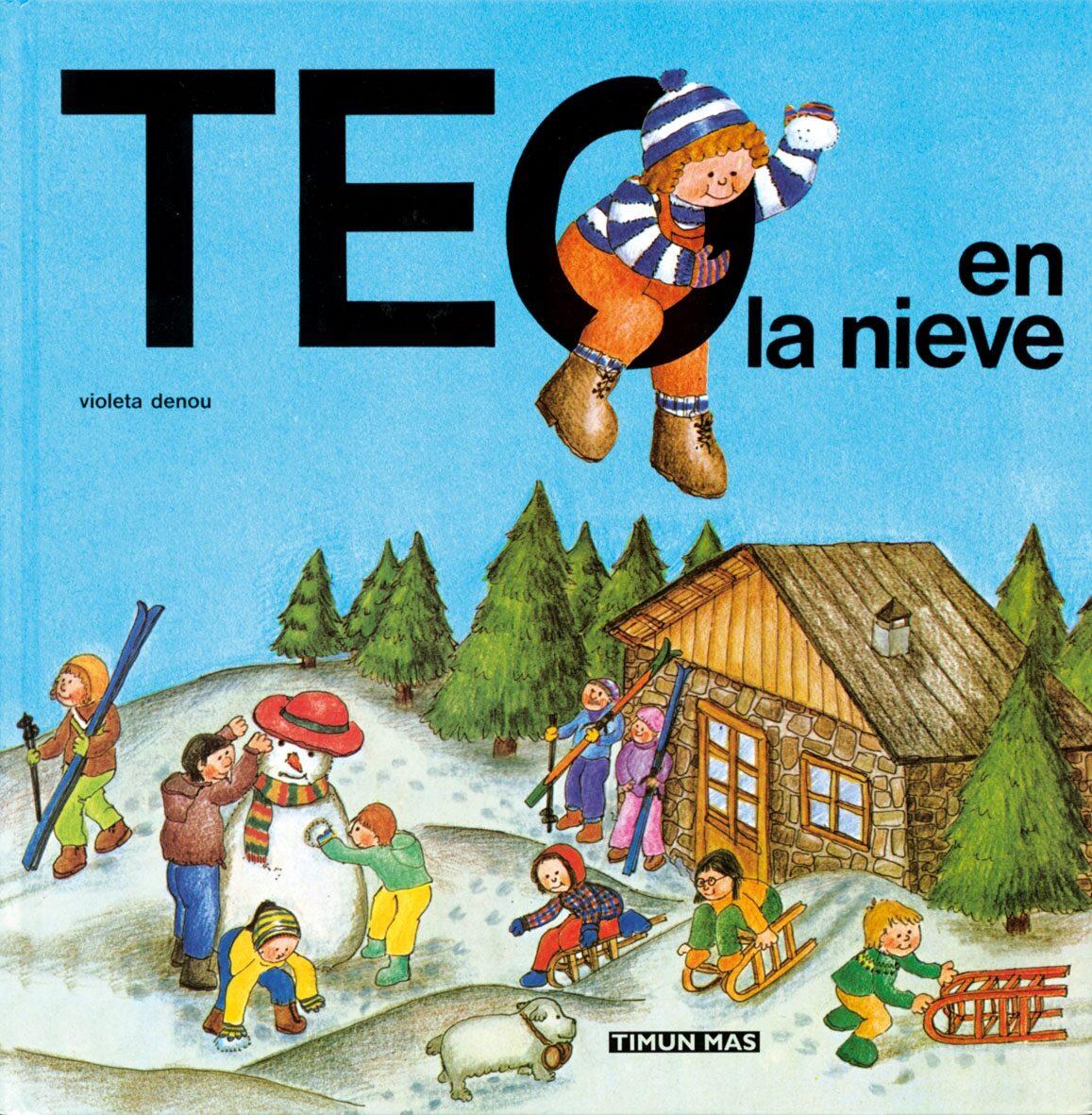 Teo en la nieve violeta denou joan capdevila 9788471763433