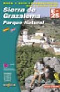 Mapa De La Sierra De Grazalema por Vv.aa.