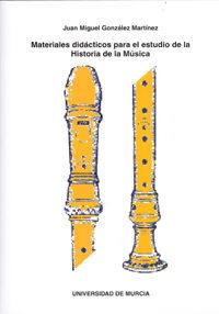 Materiales Didacticos Para El Estudio De La Historia De La Musica (incluye Cd) por Vv.aa. Gratis