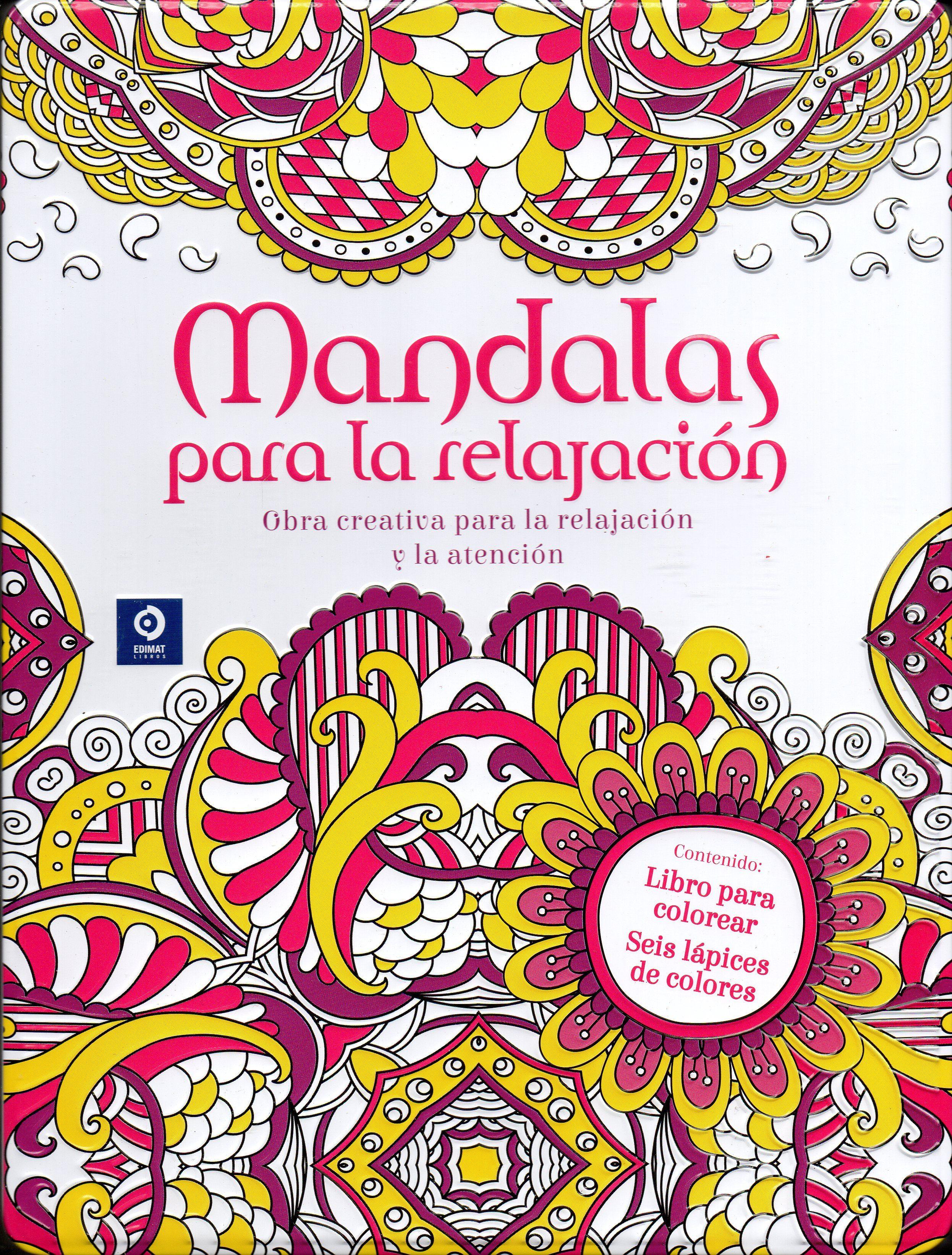 Descargar Pdf Mandalas Para La Relajación Caja Metálica