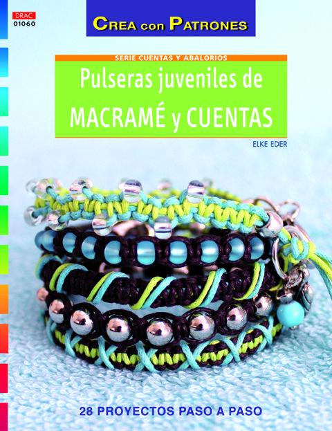 Pulseras Juveniles De Macrame Y Cuentas por Elke Eder