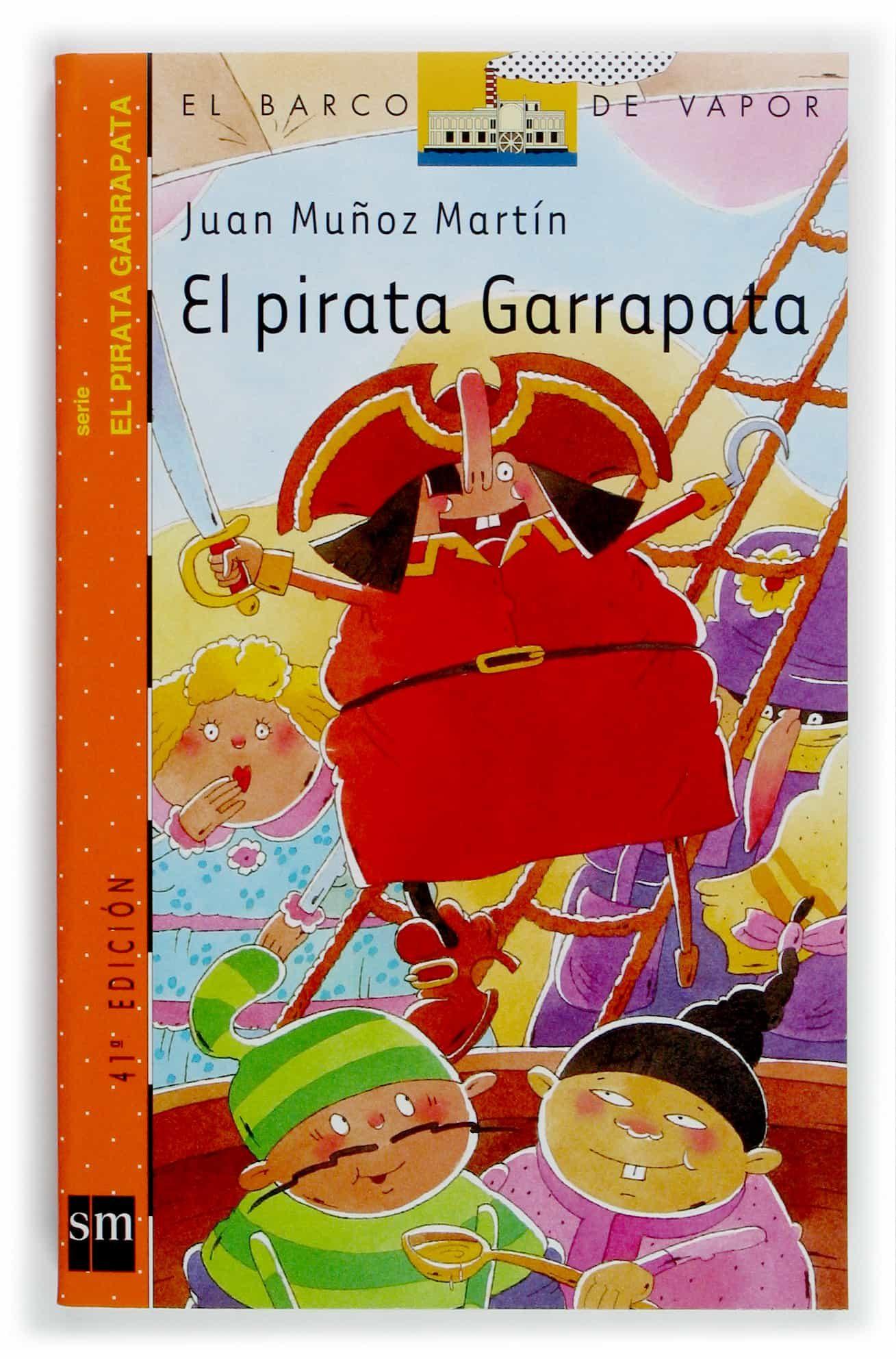El pirata garrapata (Barco de Vapor Naranja)