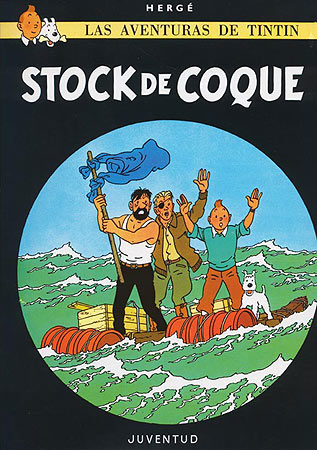 C- Stock de coque (LAS AVENTURAS DE TINTIN CARTONE)