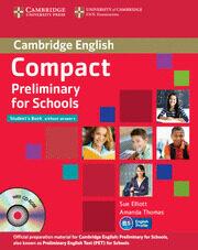 compact preliminary for schools (student's pack (student's book, workbook)-sue elliott-amanda thomas-9781107667143
