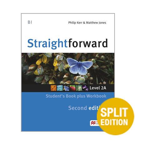 descargar STRAIGHTFORWARD (2ND EDITION - SPLIT) 2A (B1 / PRE-INTERMEDIATE) STUDENT S BOOK & WORKBOOK WITH WORKBOOK AUDIO CD pdf, ebook