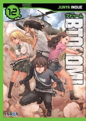 Btooom! Nº 12 por Junya Inoue