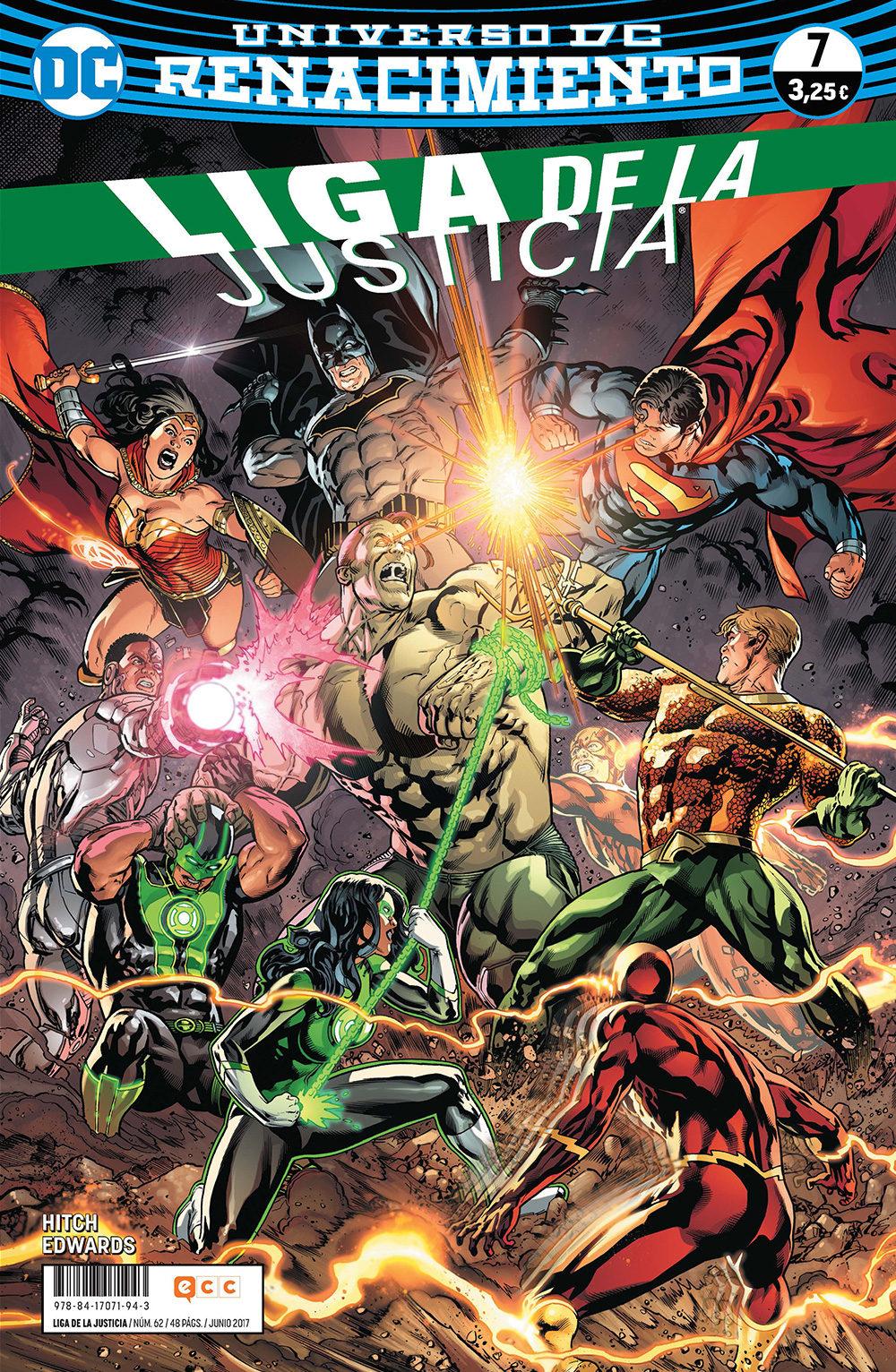 Liga De La Justicia Nº 62/ 7 (renacimiento) por Bryan Hitch epub