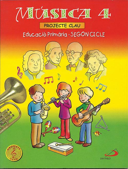 Projecte Clau: Musica 4 (educacio Primaria-segon Cicle) por Cristobal Corral Salas