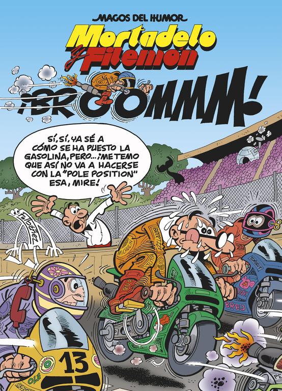 magos del humor nº 157: mortadelo y filemon ¡broommm!-francisco ibañez-9788466648943