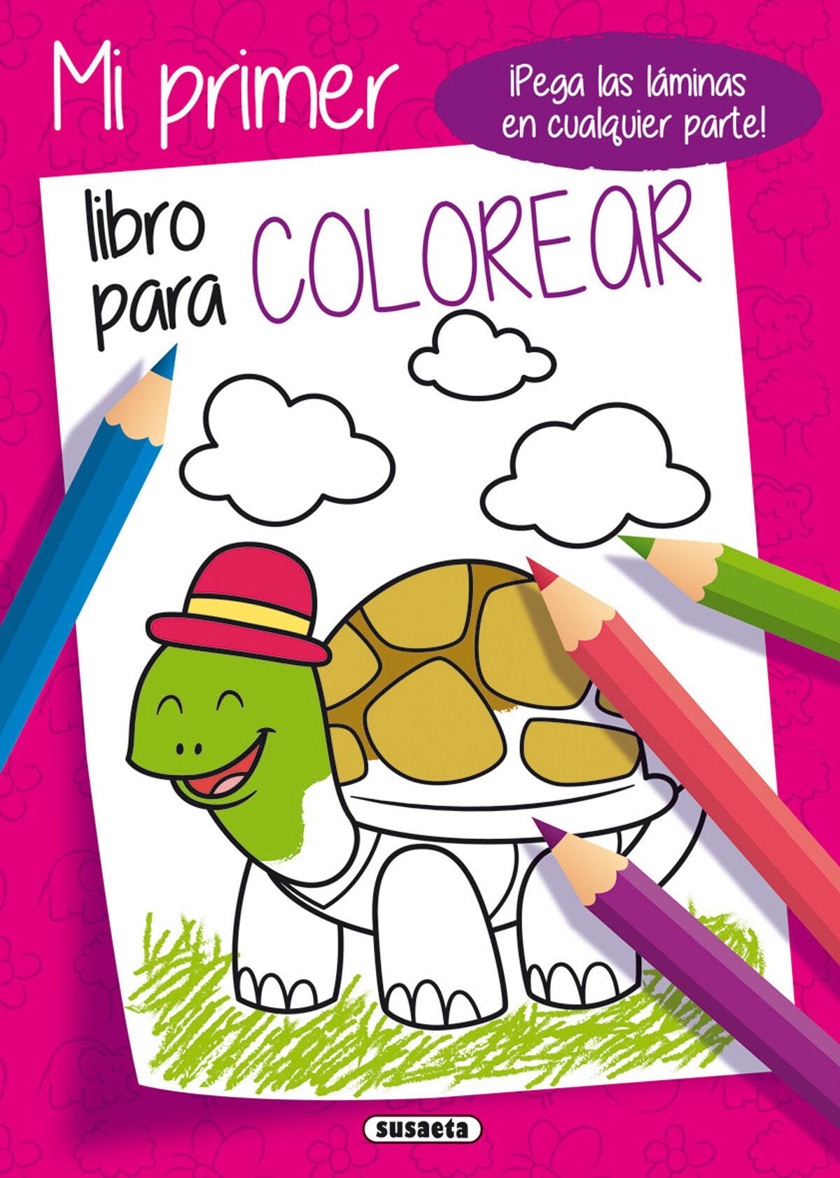 MI PRIMER LIBRO PARA COLOREAR 2 (TORTUGA) | VV.AA. | Comprar libro ...