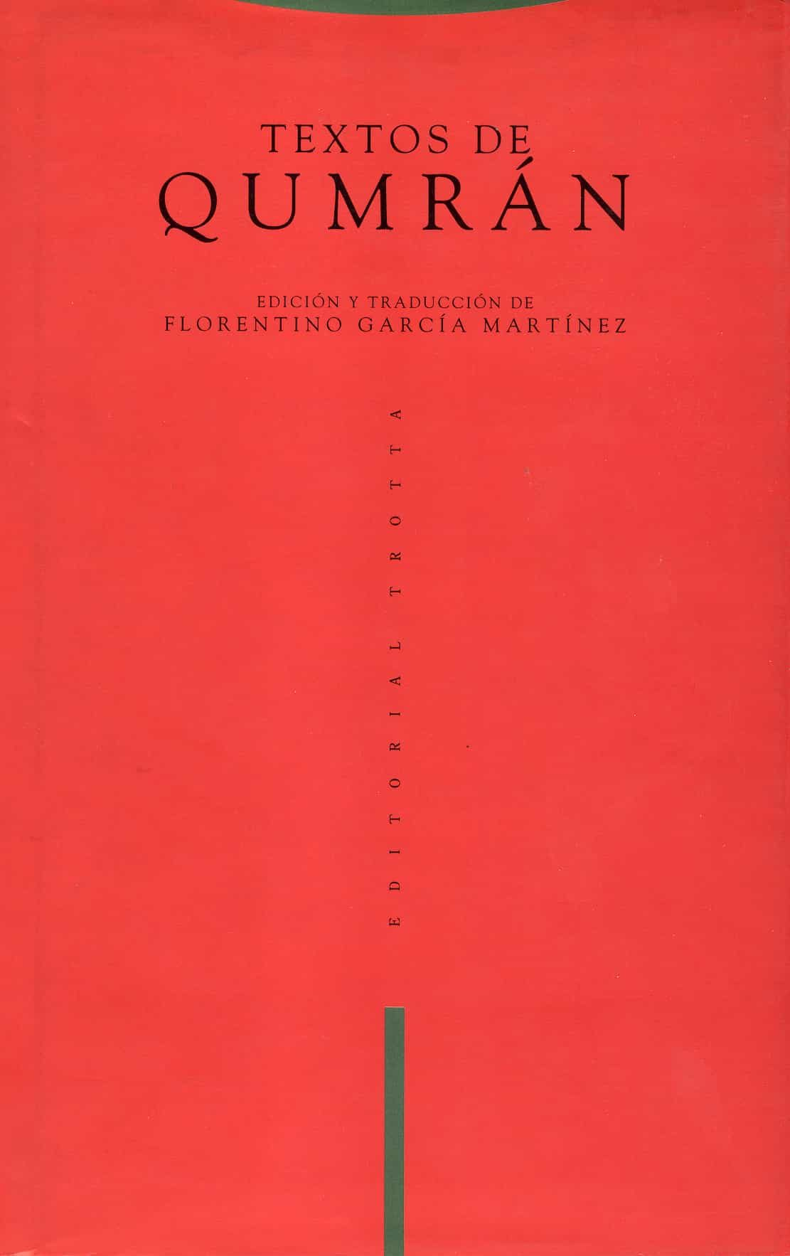textos de qumran (6ª ed.)-f. garcia martinez-9788487699443