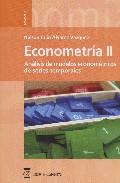 Econometria Ii ; Analisis De Modelos Econometricos De Series Temp Orales por Nelson Alvarez Vazquez Gratis