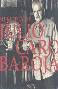 Memoria De Julio Caro Baroja por Vv.aa. epub