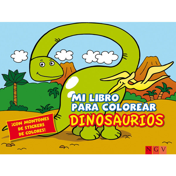 DINOSAURIOS (LIBRO PARA COLOREAR) | VV.AA. | Comprar libro 9783849903053