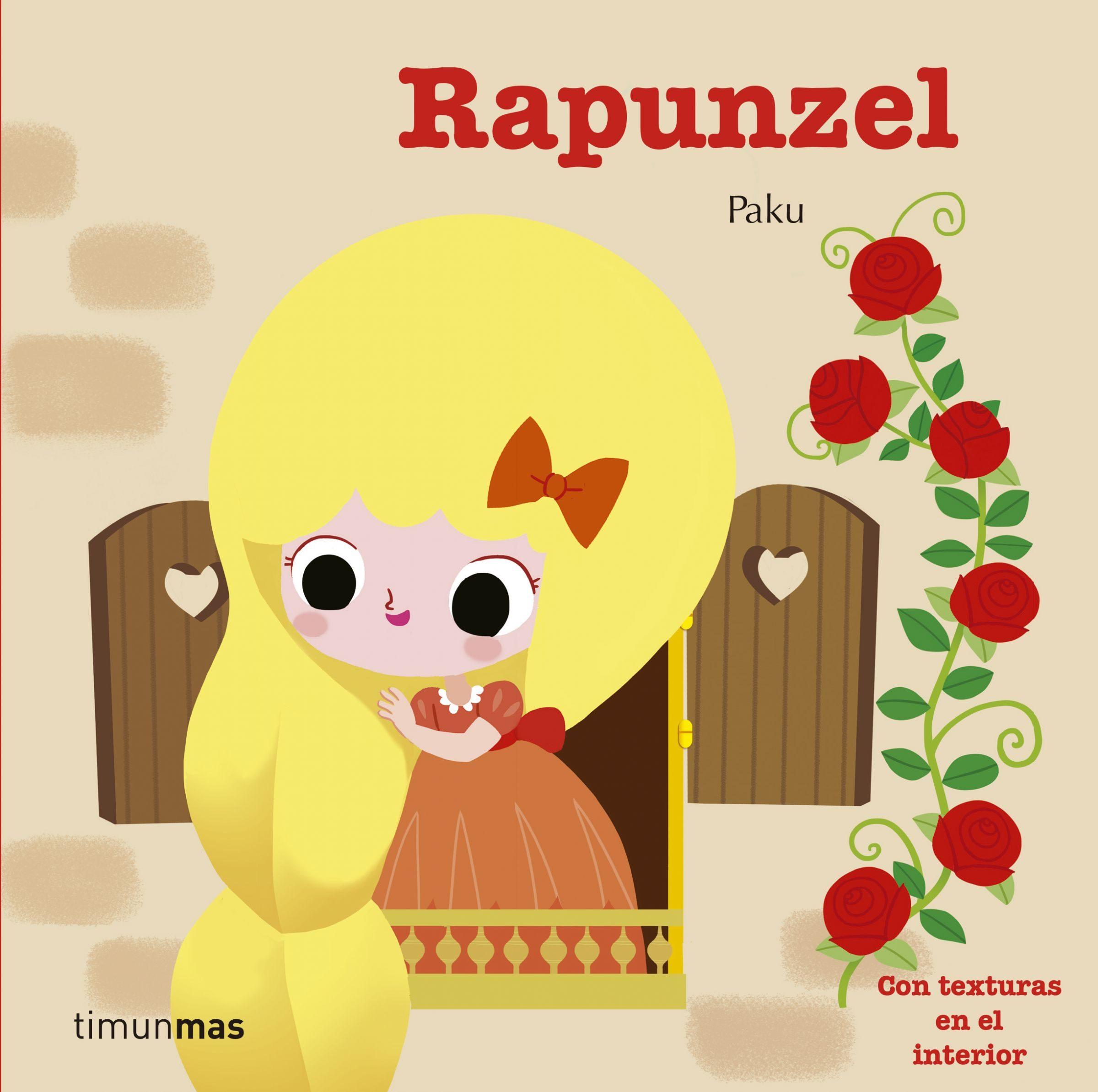 Rapunzel (cuentos Clasicos Con Texturas) por Paku
