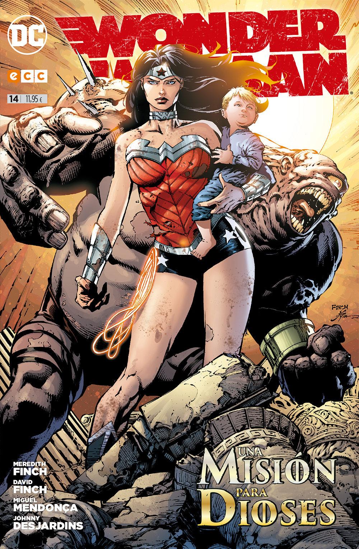 Wonder Woman Núm. 14 por David Finch epub