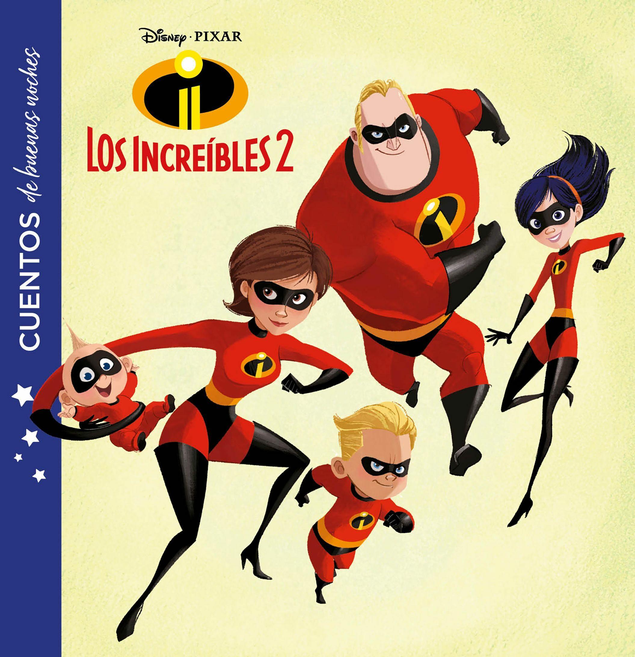 Los Increibles 2 (cuentos De Buenas Noches) por Disney
