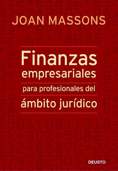 finanzas empresariales para profesionales del ambito juridico-joan massons-9788423427253