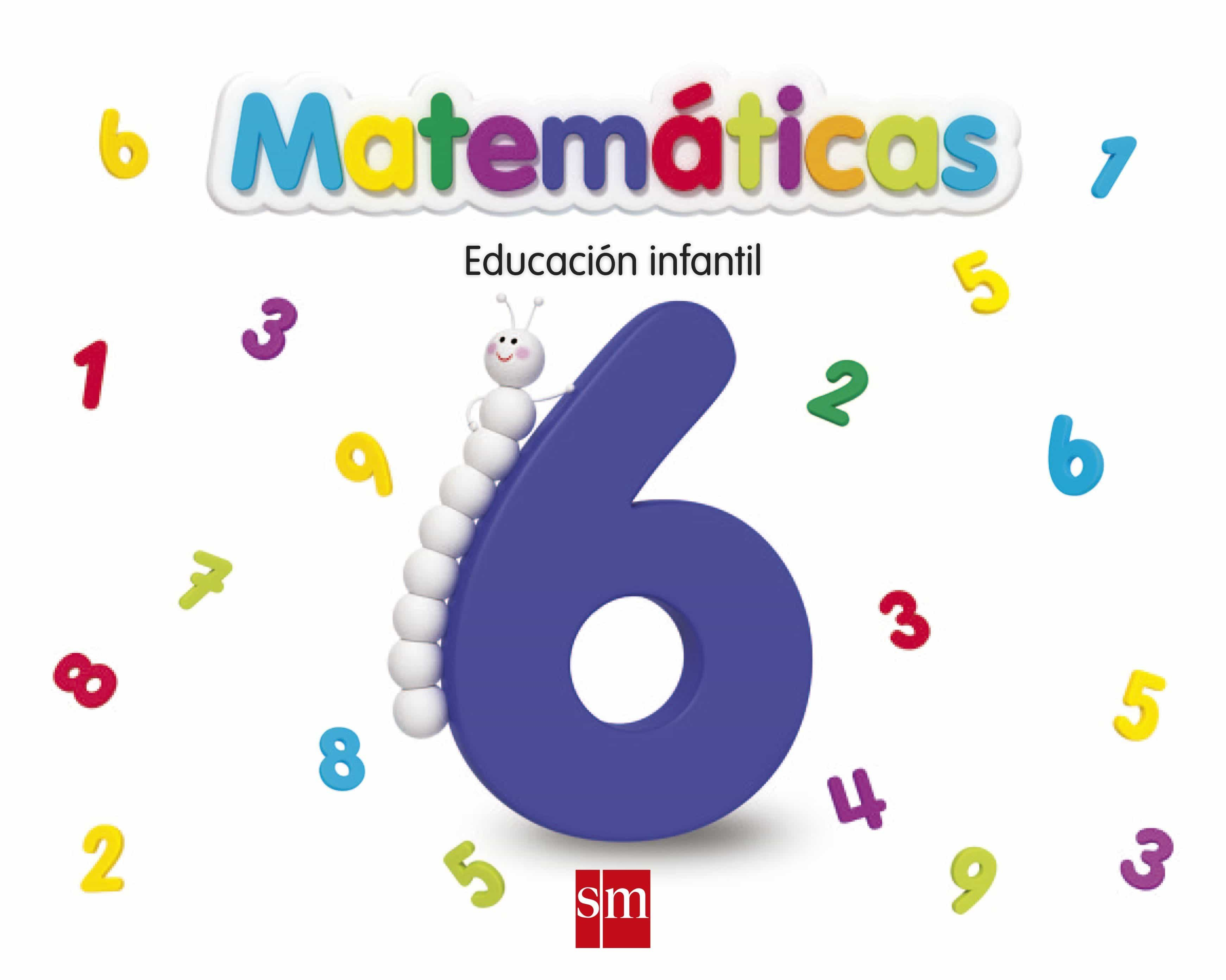 matemáticas nivel 6, 5 años, educacion infantil,  ed 2013-9788467551853