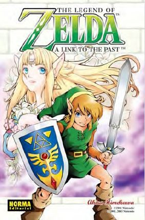the legend of zelda 4: a link to the past-akira himekawa-9788467901153