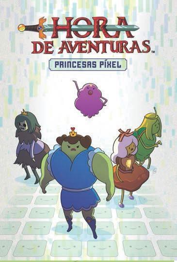 hora de aventuras: princesas pixel-danielle corsetto-zack sterling-9788467917253