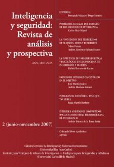 Inteligencia Y Seguridad : Revista De Analisis Y Prospectiva 02 Junio-noviembre 2007 por Vv.aa. epub